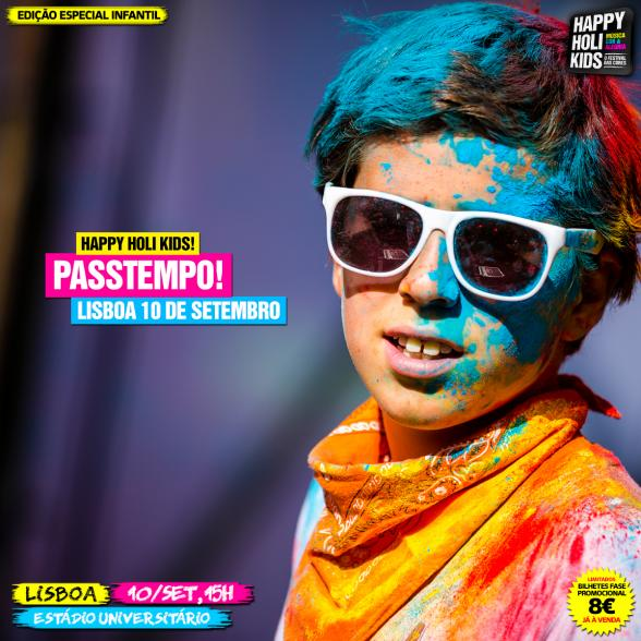 Passatempo - Happy Holi Kids
