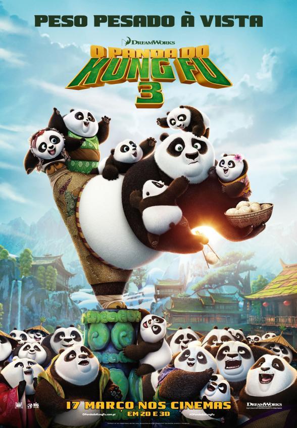 Passatempo O Panda do Kung Fu 3