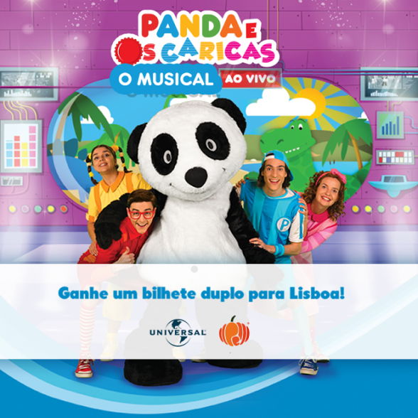 Passatempo Panda e os Caricas Musical