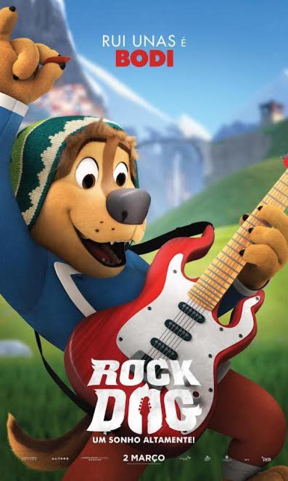 Passatempo Rock Dog Filme