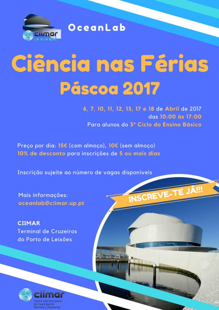 Ciência nas Férias OceanLab 2017