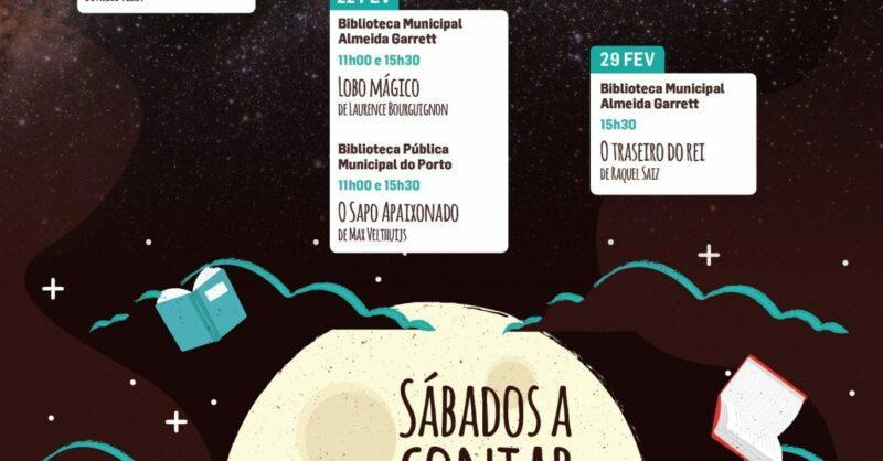 Sábados a Contar nas Bibliotecas Municipais do Porto