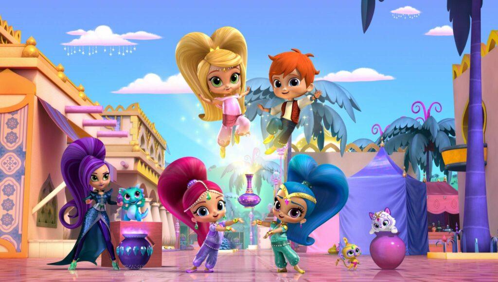 Shimmer e Shine - nova série infantil no Canal Panda para o