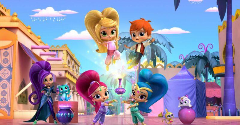 Shimmer e Shine - nova série infantil no Canal Panda