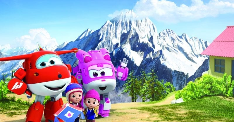 Super Wings aterra em Portugal com o Canal Panda