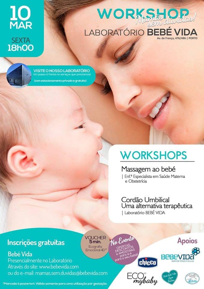 BEBÉ VIDA esclarece dúvidas de futuras mamãs no Porto