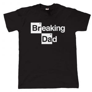 breaking dad t-shirt Presente Dia do pai
