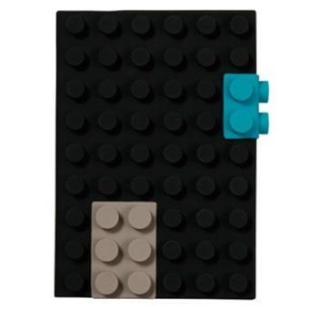 caderno lego preto Presente dia do Pai