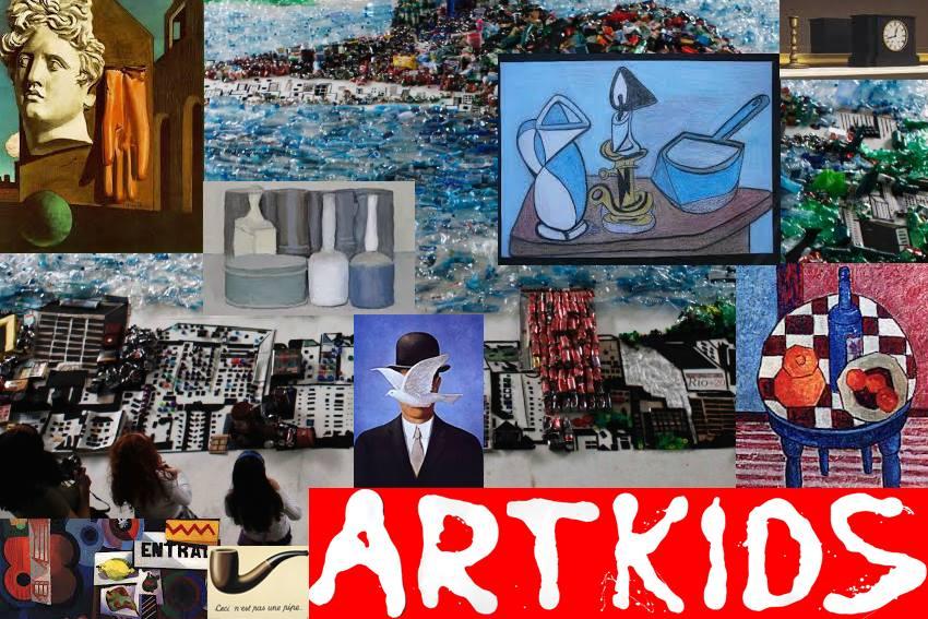 CAIXA DOS SEGREDOS: Férias da Páscoa ArtKids