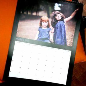 calendário personalizado Presente dia do Pai