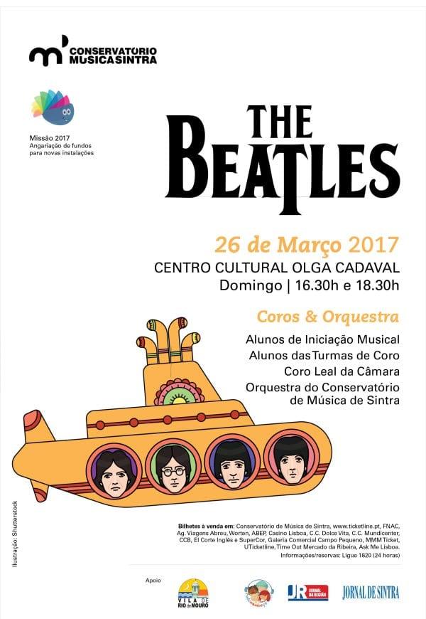 The Beatles pelo Conservatório de Sintra