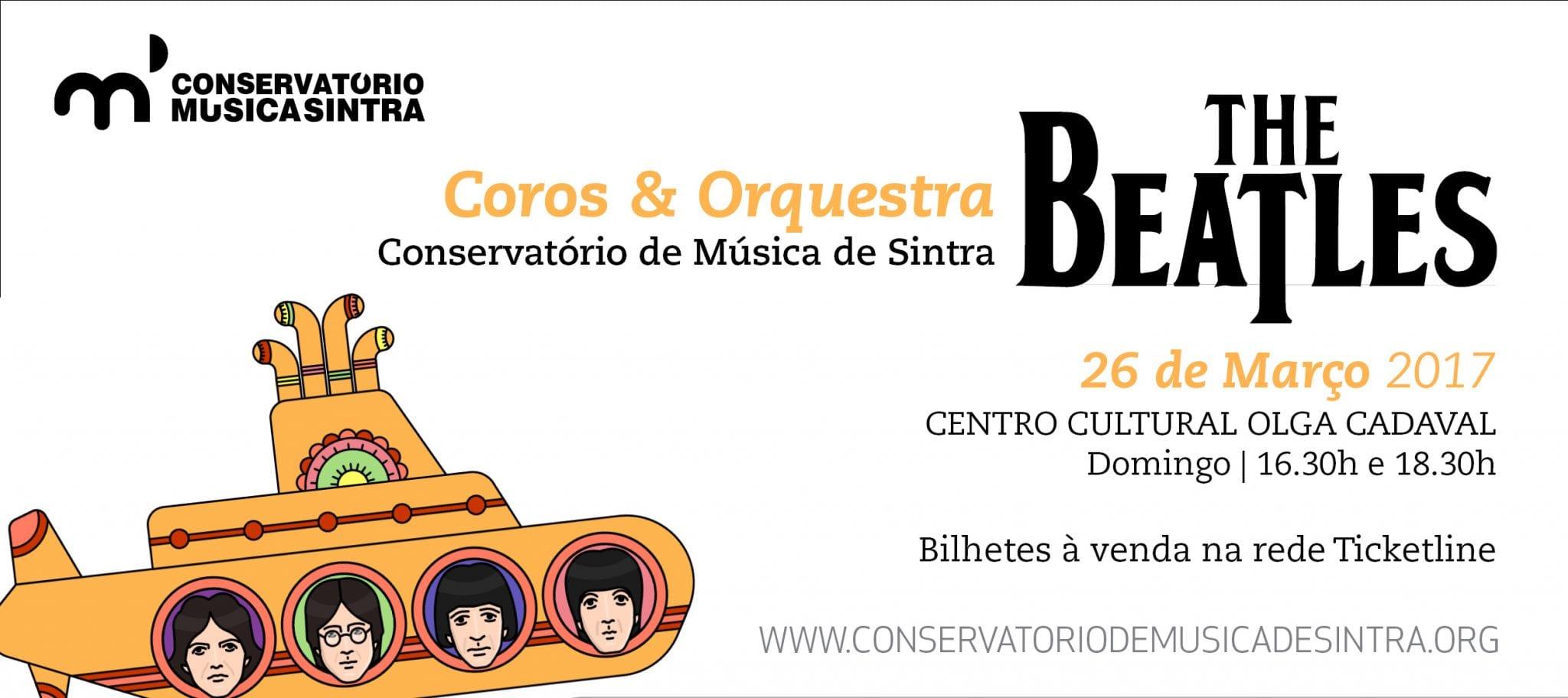 Concerto The Beatles pelo Coro e Orquestra do Conservatório de Sintra no Centro Cultural Olga Cadaval