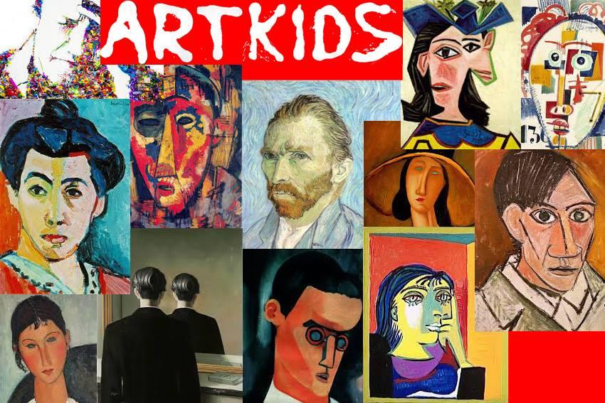 ESPELHO MEU: Oficina de Auto-Retrato – Vamos Pintar o Quem é Quem?