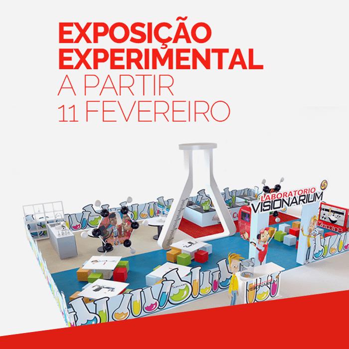 Exposição Experimental – LABORATÓRIO VISIONARIUM