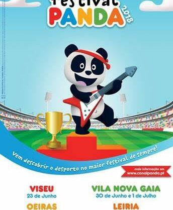 Festival Panda em Leiria
