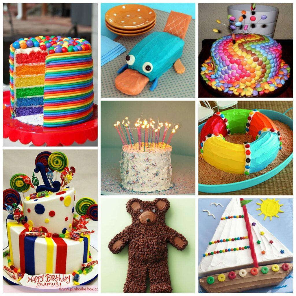 Ideias simples para decorar em casa bolos para festas de aniversário