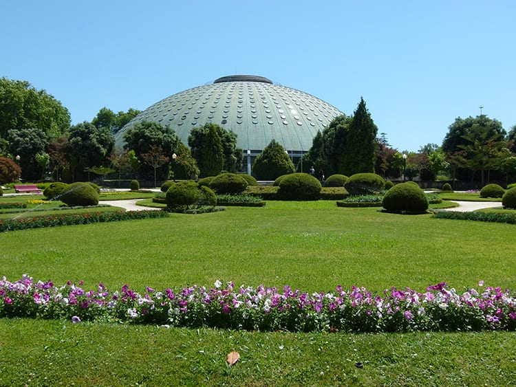 jardins palácio cristal