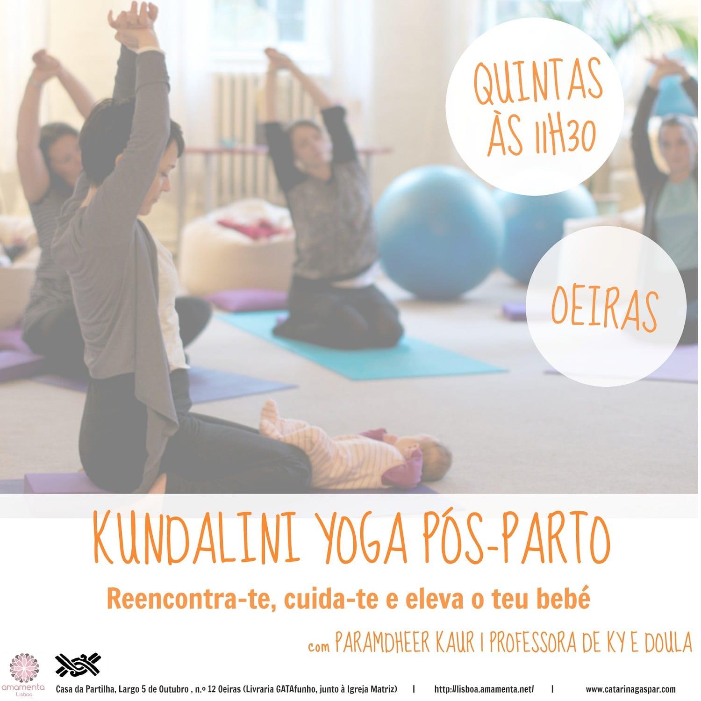 Aulas de Kundalini Yoga Pós-Parto
