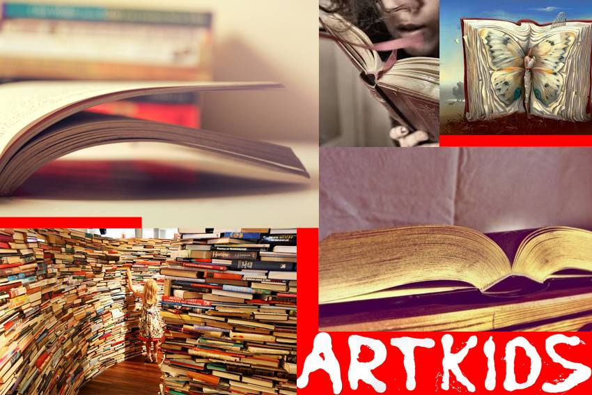 LIVRO DE UMA VIAGEM IMAGINÁRIA: Férias da Páscoa ArtKids