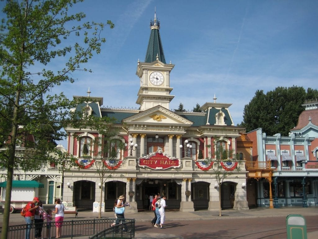Main Street Disneyland Paris