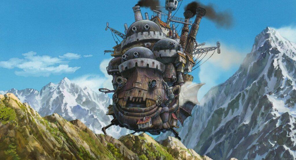 HAURU NO UGOKU SHIRO   O Castelo Andante