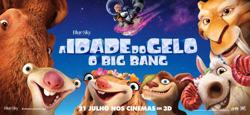 Passatempo Idade do Gelo Big Bang