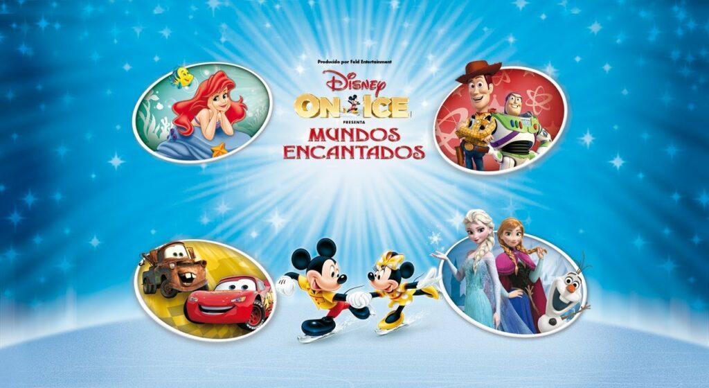Passatempo Disney on Ice Mundos Encantados