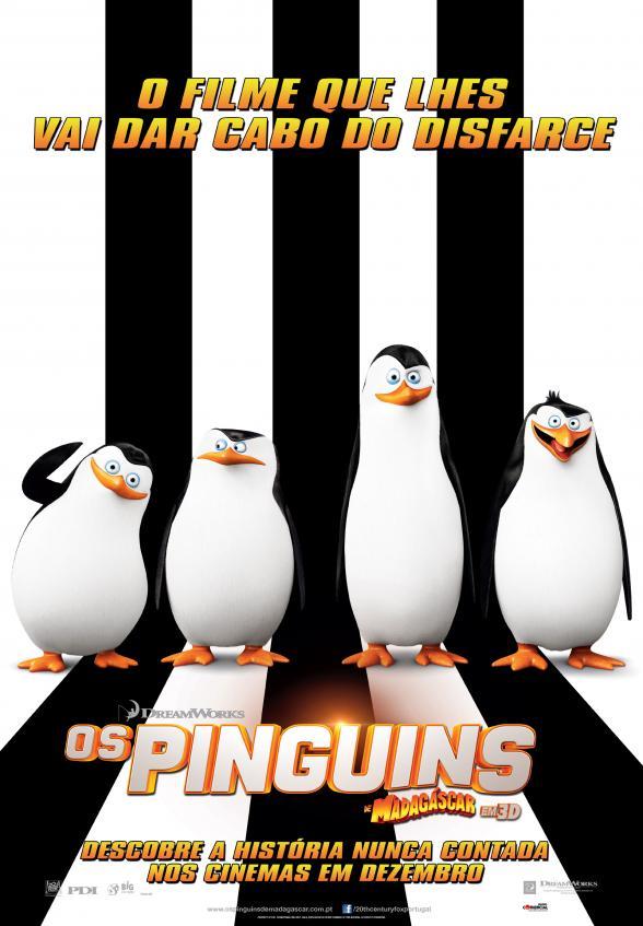 Passatempo - Os Pinguins de Madagáscar