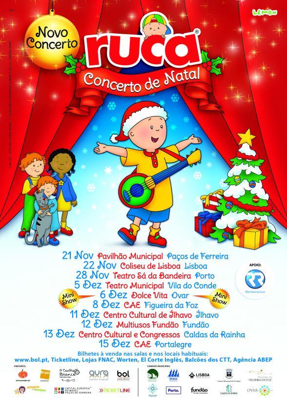 Passatempo Ruca, Concerto de Natal