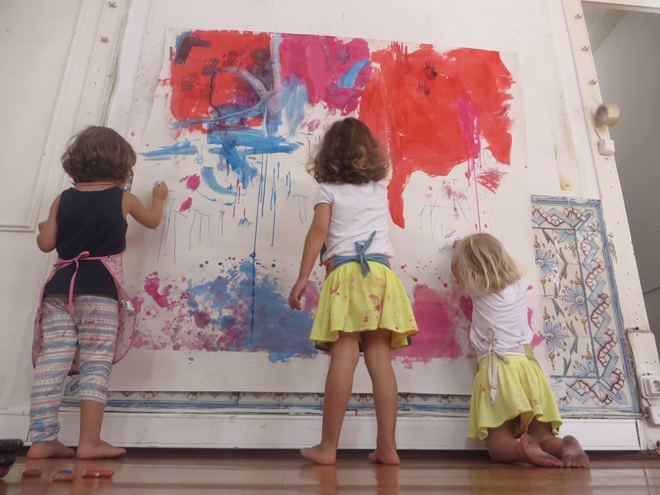 Oficina Pintura em Acção