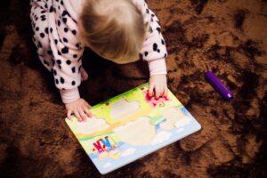 puzzle com crianças