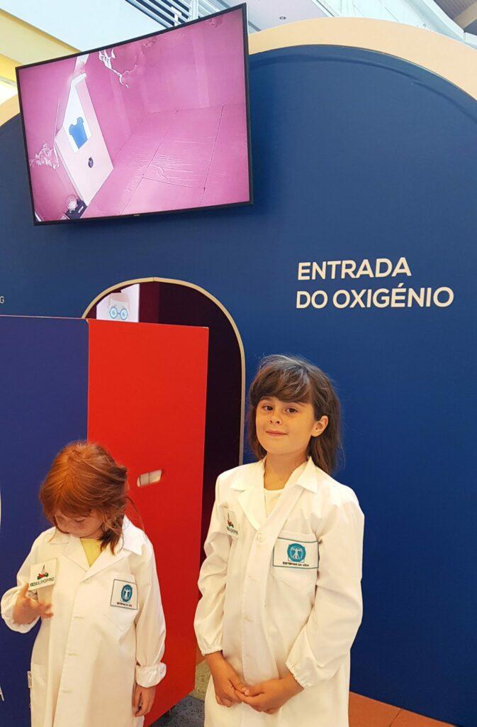 Exposição sobre o Corpo Humano Montijo Rio Sul Shopping
