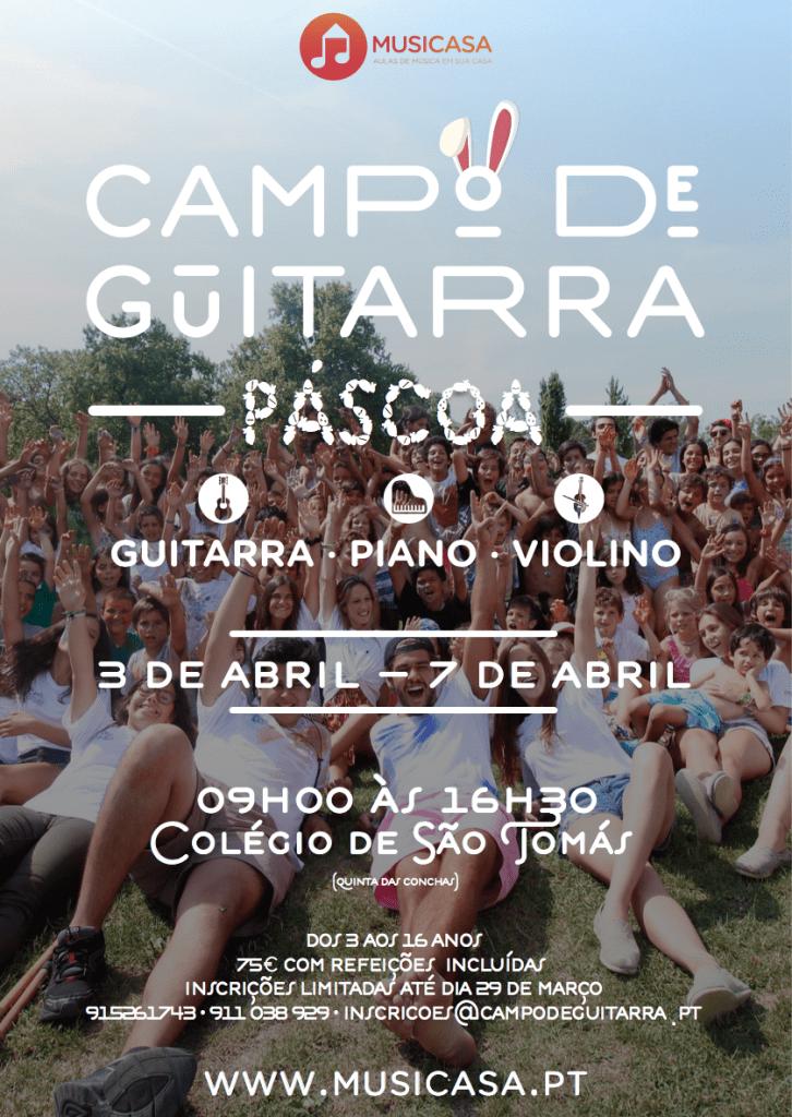 Campo de Guitarra | Férias da Páscoa