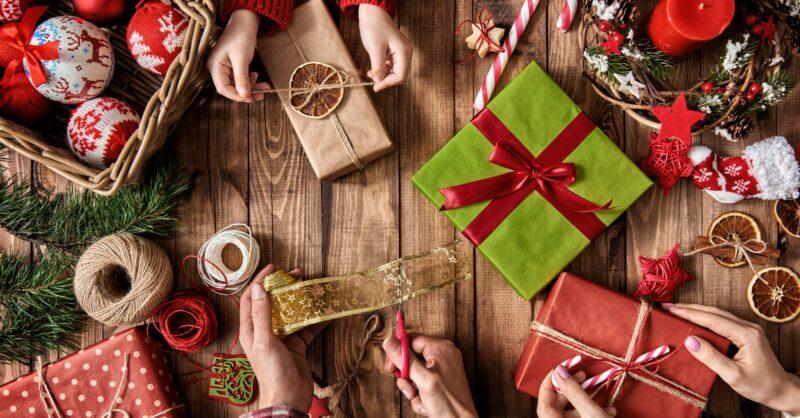 prendas de natal originais feitas à mão