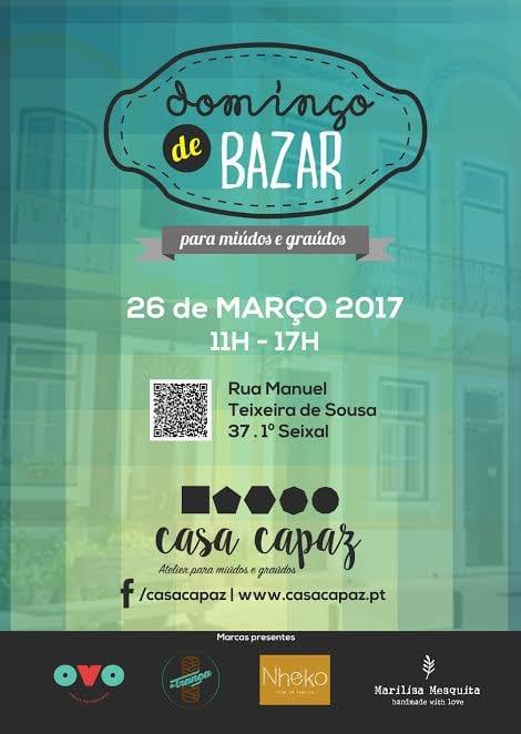 Domingo de Bazar na Casa Capaz
