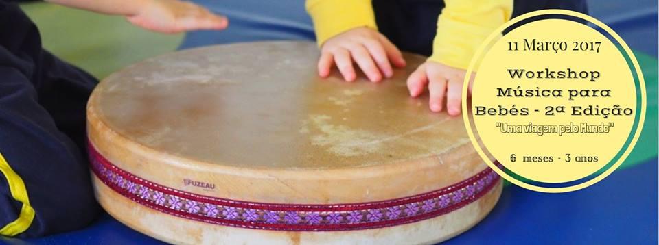 Workshop Música para Bebés - 2ª Edição