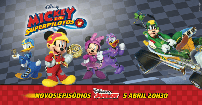 Mickey e os Super Pilotos estreia no Disney Junior