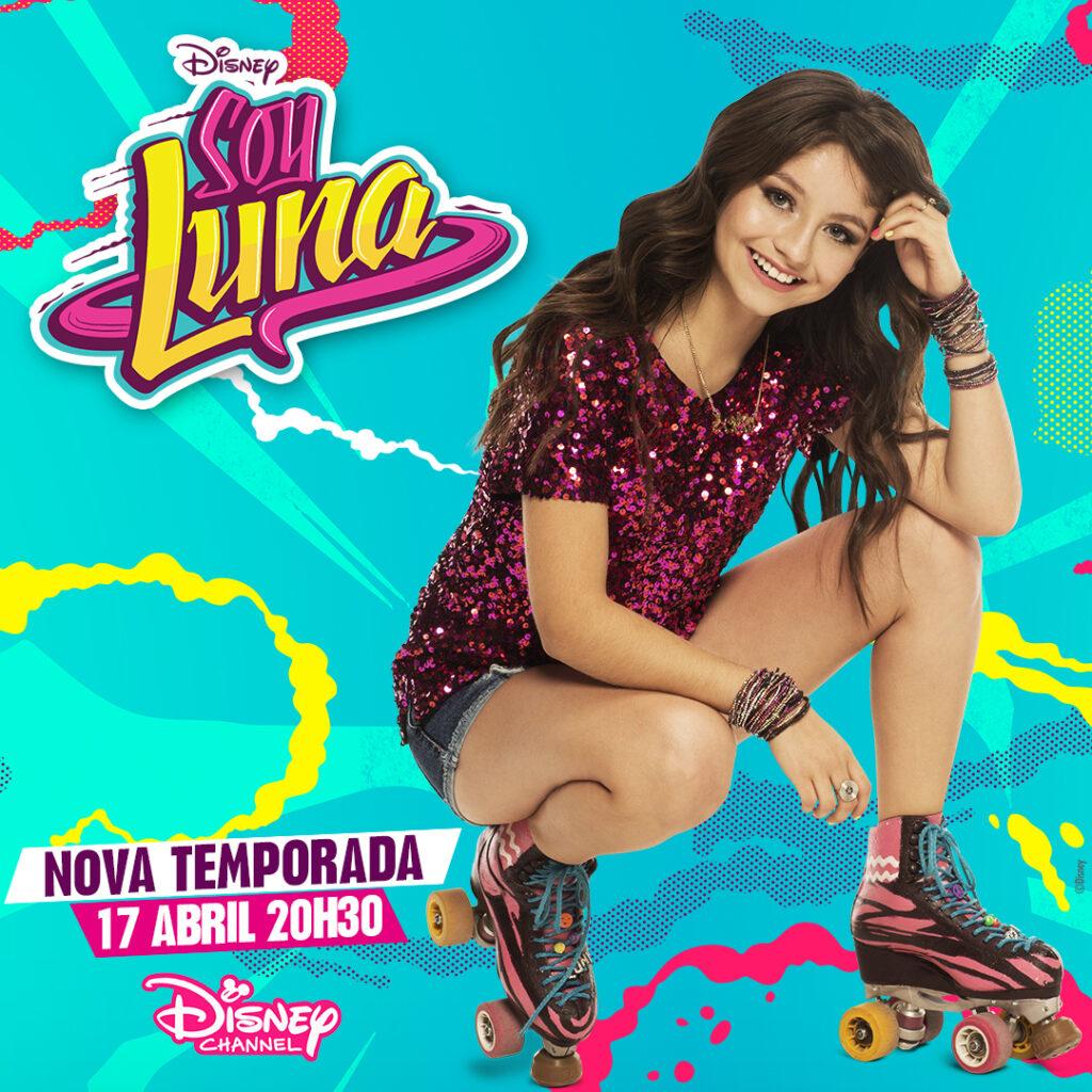 Soy Luna estreia temporada no Canal Disney