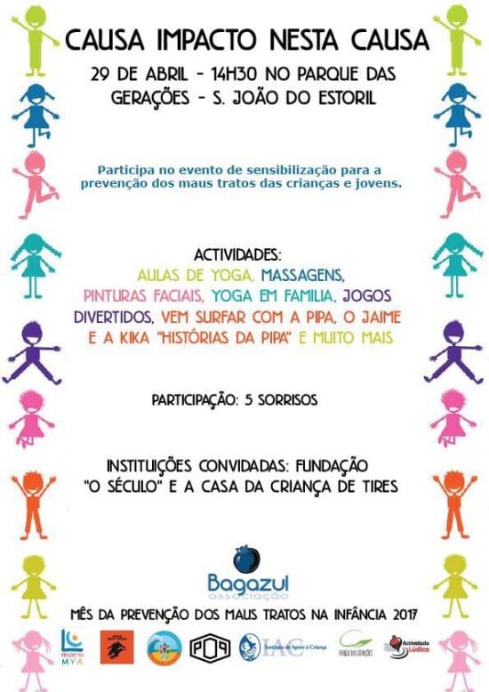 Atividade de prevenção dos maus tratos infantis