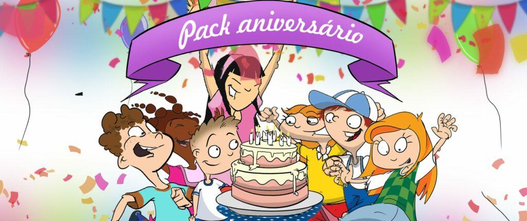 Hoje faço Anos - lembrança de aniversário