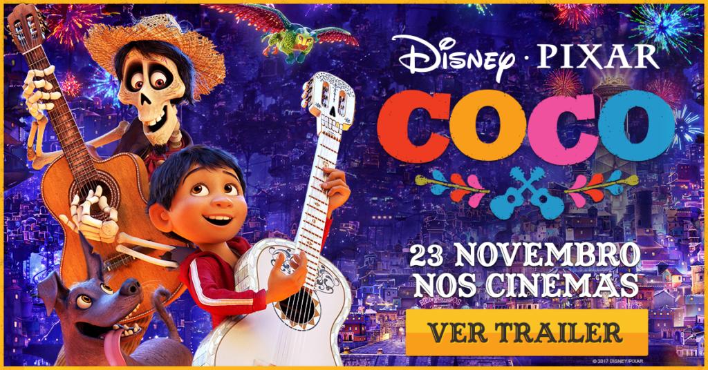 Coco Viagem ao mundo dos mortos - filme Disney