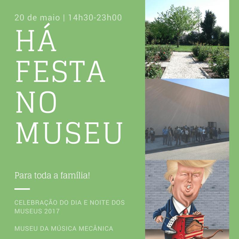 Há festa no museu!