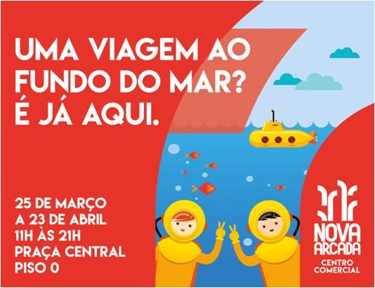 Viaje com os seus filhos até ao fundo do mar nas férias da Páscoa!