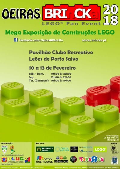 OEIRAS BRINCKA 2018 - LEGO FAN EVENT