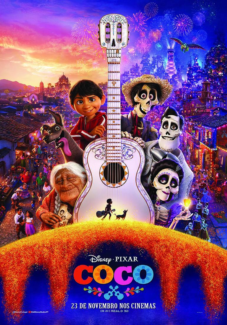 Filme Coco Viagem ao mundo dos mortos - filme Disney