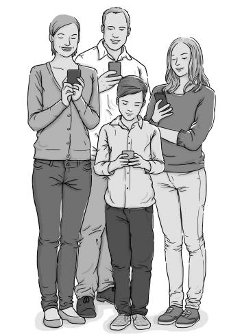 Famílias e tecnologia