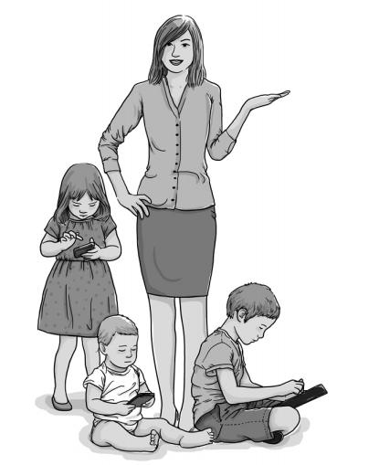 Utilização de ecrãs na infância