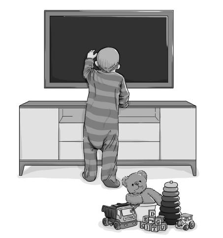 Uso excessivo de ecrãs