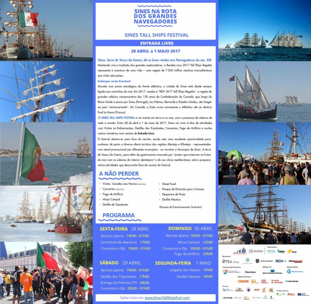 Sines Tall Ships Festival