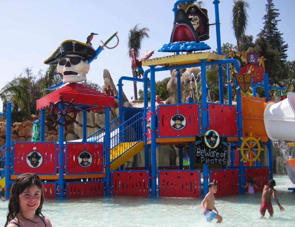 Zoomarine - baía dos piratas